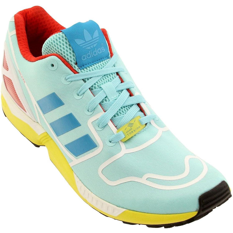 best service 4adf4 38dad ... get amazon af6304 adidas zx flux mens sneakers adidasclaoua boaoua  ftwwht aquclam shoes eecff b6dab