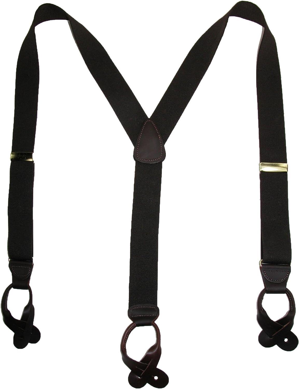 Custom Eastern StarLeather suspenders