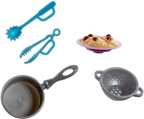 2c46c9ad74bb34 Barbie- Accessori Cucina, Multicolore, FHP72: Amazon.it: Giochi e ...