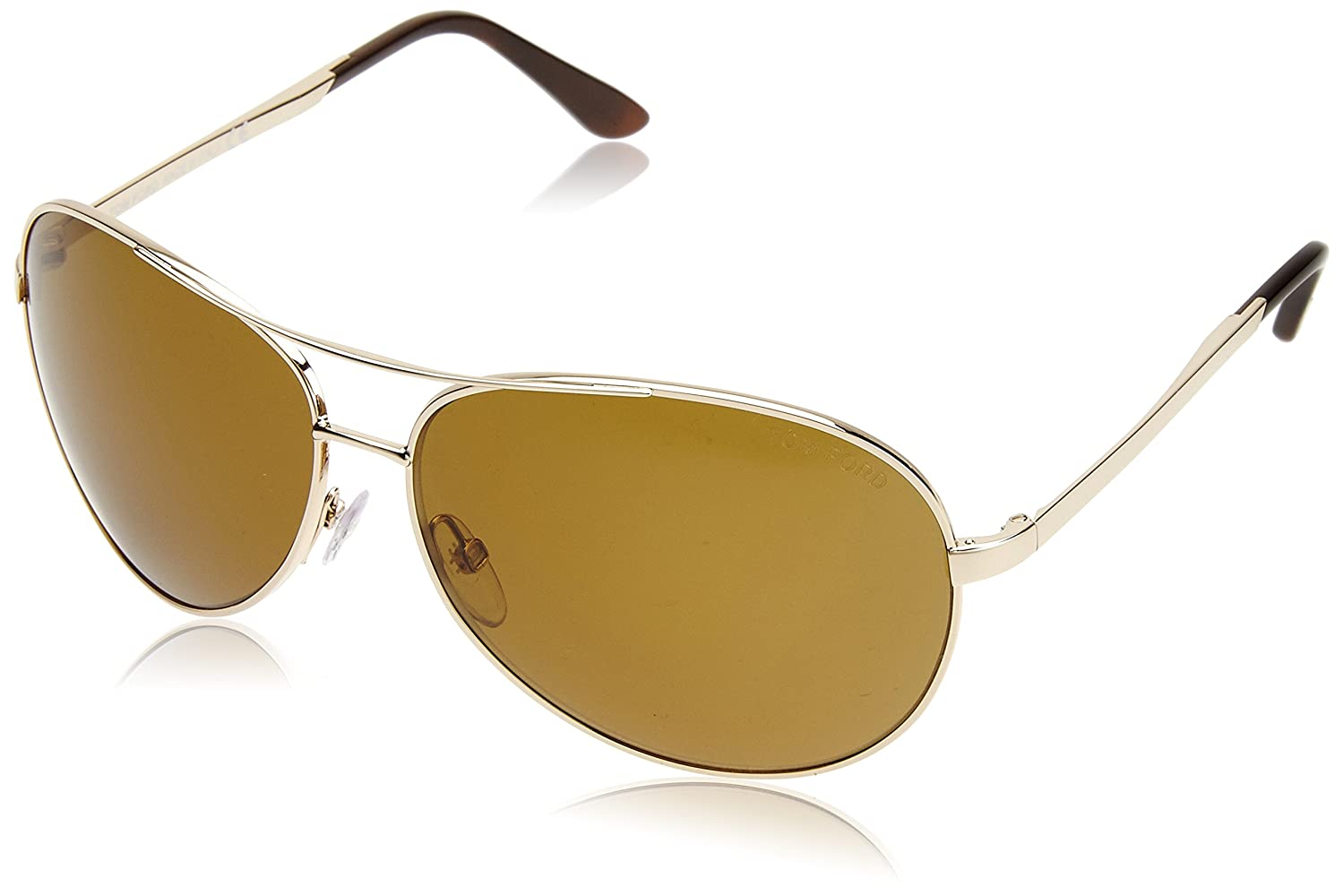 5a85df8af8 Amazon.com  Tom Ford FT0035 Sunglasses 28H Shiny Rose Gold  Clothing