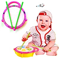 Negi Battery Operated Musical Flash Drum for Kids