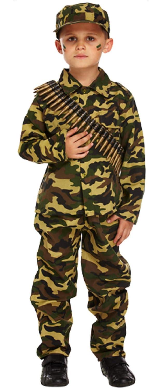 Amazon.com: Niños camuflaje Ww1 WW2 Soldado Del Ejército ...