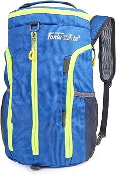 Idefair Mochila plegable de viaje para senderismo, ligera y plegable, para deportes, senderismo, camping, escalada, bolsa de viaje, mochila grande ...