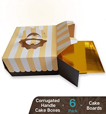 Amazon.com: Cookeezz Couture - Cajas de colores para tartas ...