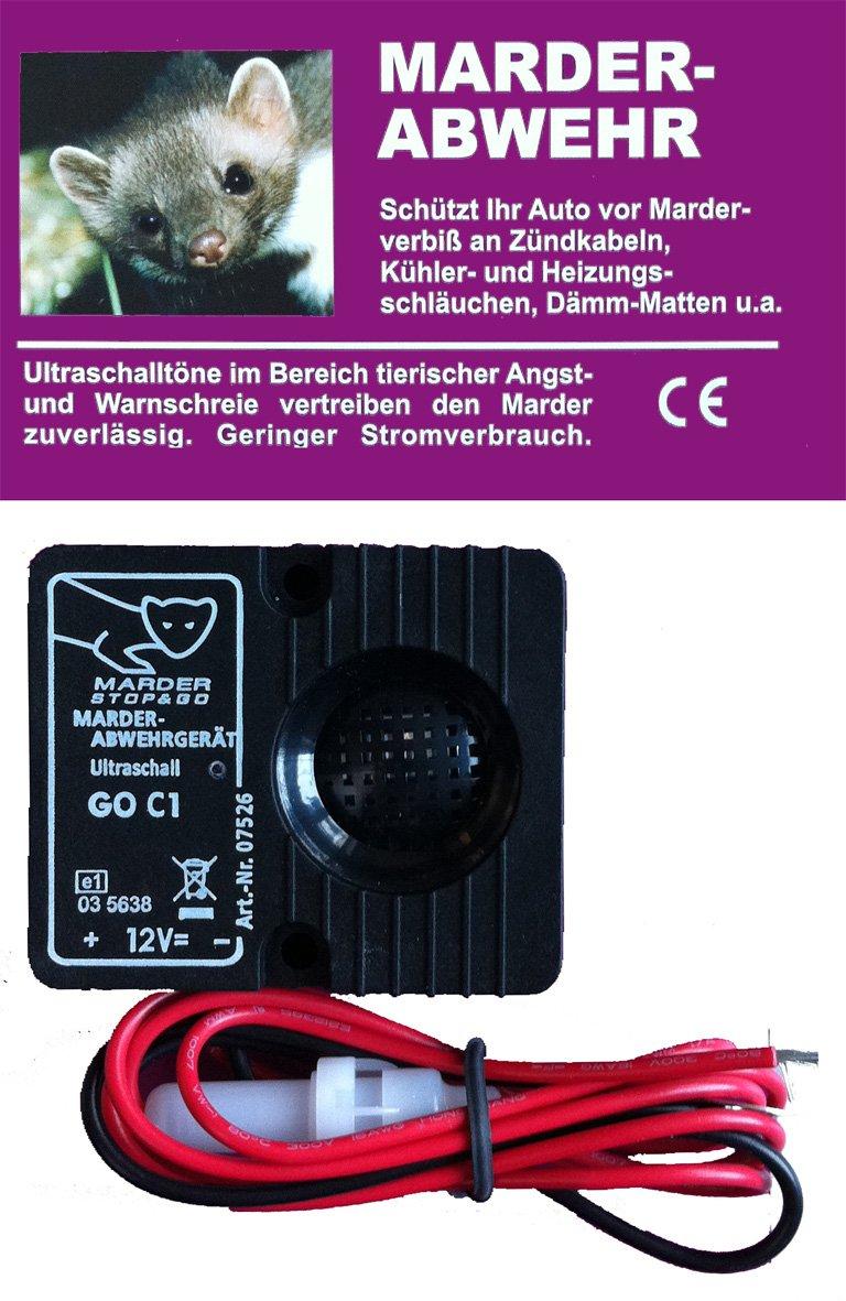 STOP & GO Marderschutz Marderschreck Ultraschallgerät Standard 12 Volt 07535 product image