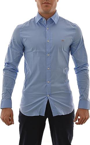 Camisa Lacoste CH2561 azul: Amazon.es: Ropa y accesorios