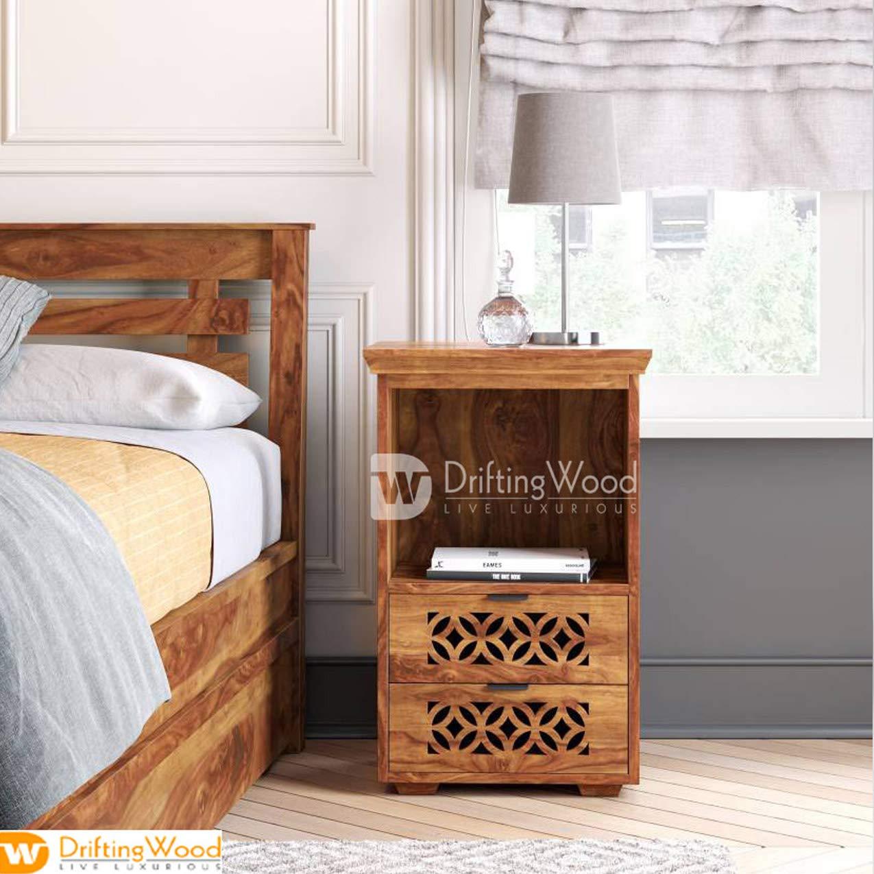 Online Interior Design | Wood Bedside Cabinet
