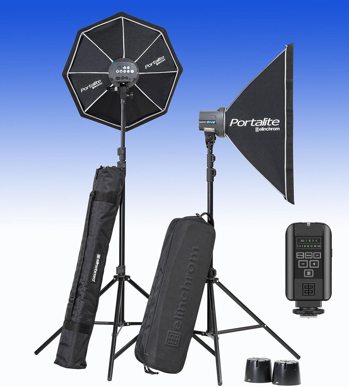 Elinchrom Flash El20847 2 Komplette Studie Lite Rx Kamera