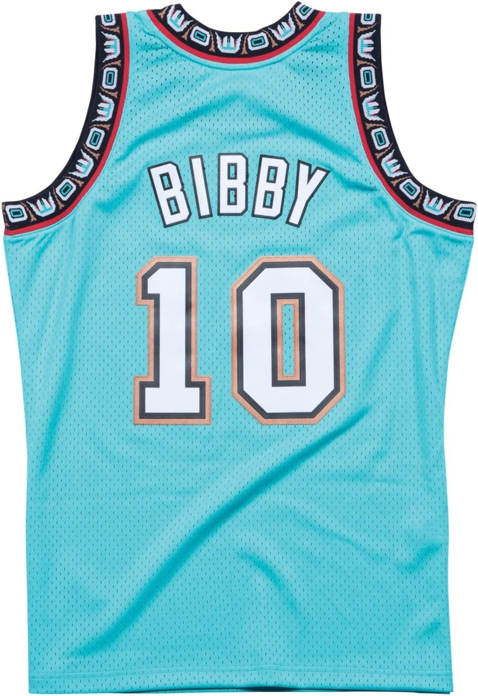 Mike Bibby Vancouver Grizzlies Mitchell & Ness NBA - Camiseta de ...