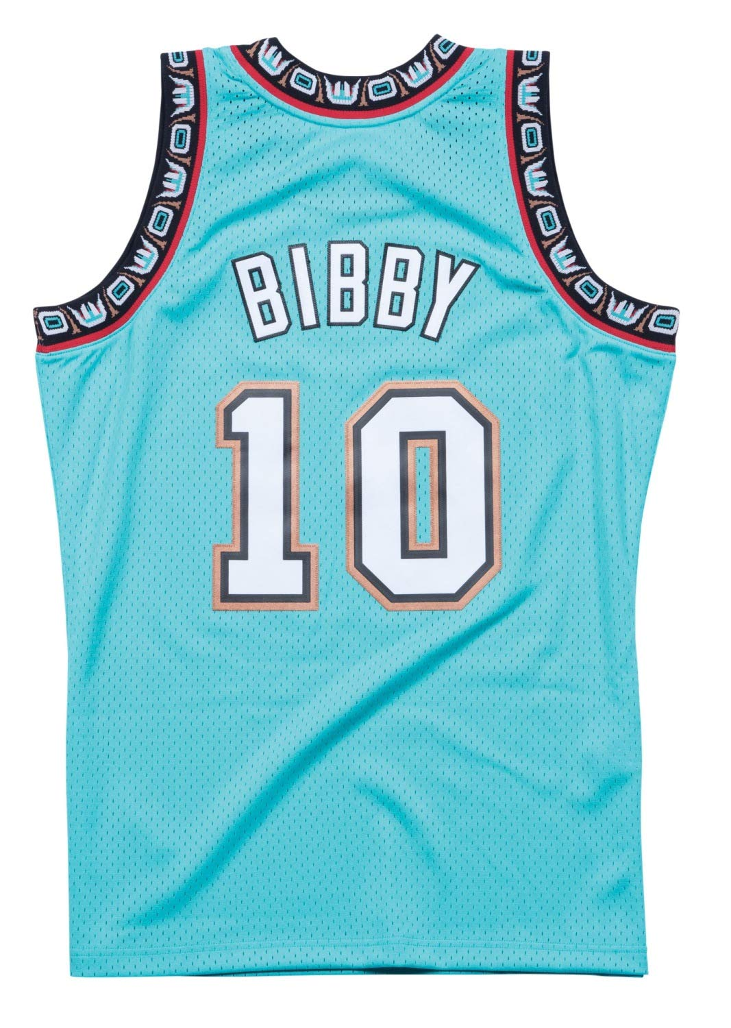 6dd9f5da7e1 Amazon.com : Mike Bibby Vancouver Grizzlies Mitchell and Ness Men's Teal  Throwback Jersey : Clothing