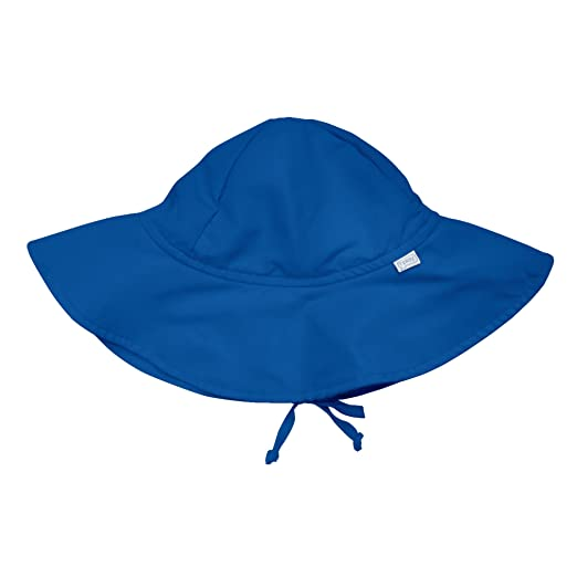 Amazon.com  UPF 50+ Sun Protection Brim Hat by Iplay Royal Blue 9-18 ... 0b96c91bb71d