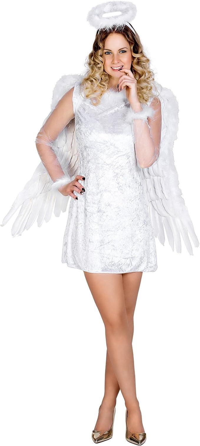 TecTake dressforfun Disfraz de Mensajero del Cielo para Mujer ...