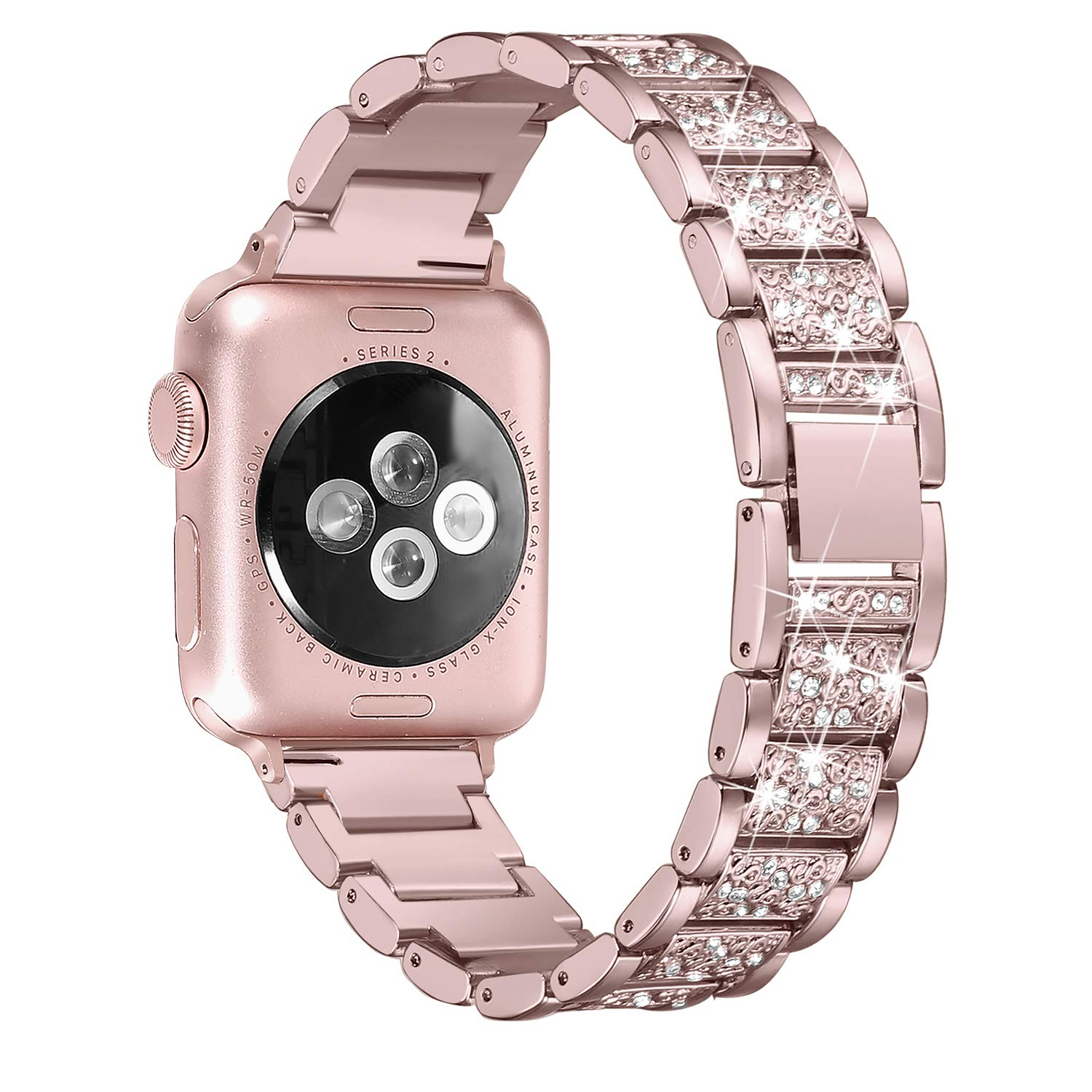 Secbolt Bling Bands Compatible Apple Watch Band 38mm 40mm