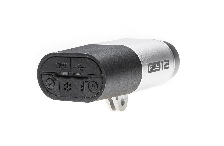 Cycliq Fly12 - Cámara Full HD y luz Delantera para Bicicleta, Unisex, Plateada, Talla única: Amazon.es: Deportes y aire libre