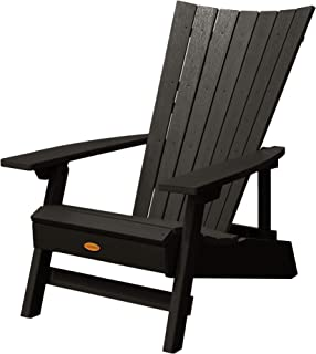 product image for Highwood AD-ADRID29A-BKE Manhattan Beach Adirondack Chair, One Size, Black