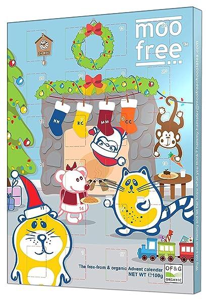 Calendario Free.Moo Free Advent Calendar 100 G