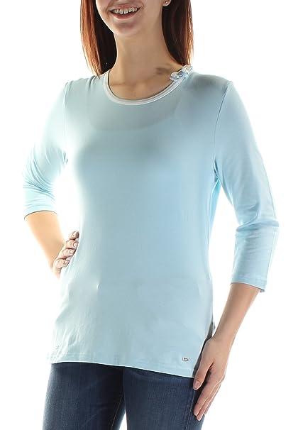 Amazon.com: Tommy Hilfiger - Camiseta de manga corta para ...