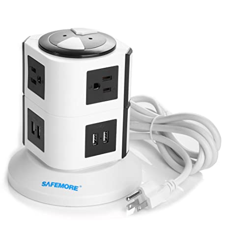 Safemore Power Strip with USB Charging Station reviews