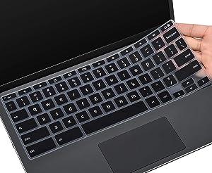 CaseBuy Keyboard Cover for HP 11a Chromebook 11a-na0010nr/na0021nr/na0030nr/na0040nr/na0050nr/na0060nr, HP Chromebook 11A G8,Chromebook x360 11 G3 EE,Chromebook X360 12b-ca0010nr Keyboard Skin, Black
