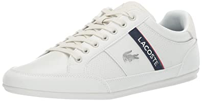 70098e2c97f18 Lacoste Men s Chaymon Sneaker Off White Navy 7 Medium US