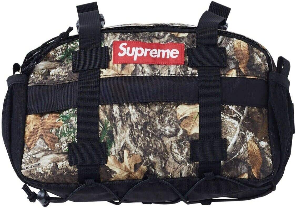 Supreme Black Waist Bag FW18 100/% Authentic Brand New In Hand Ready To Ship
