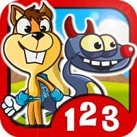 Monster Numbers: Juegos de matemáticas para niños