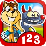 Monster Numbers: Math learning games for kids in elementary school