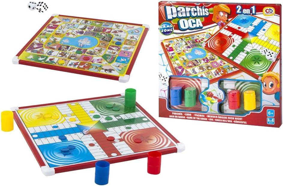 Color Baby- Juegos parchís y oca (36844): Amazon.es: Juguetes y juegos