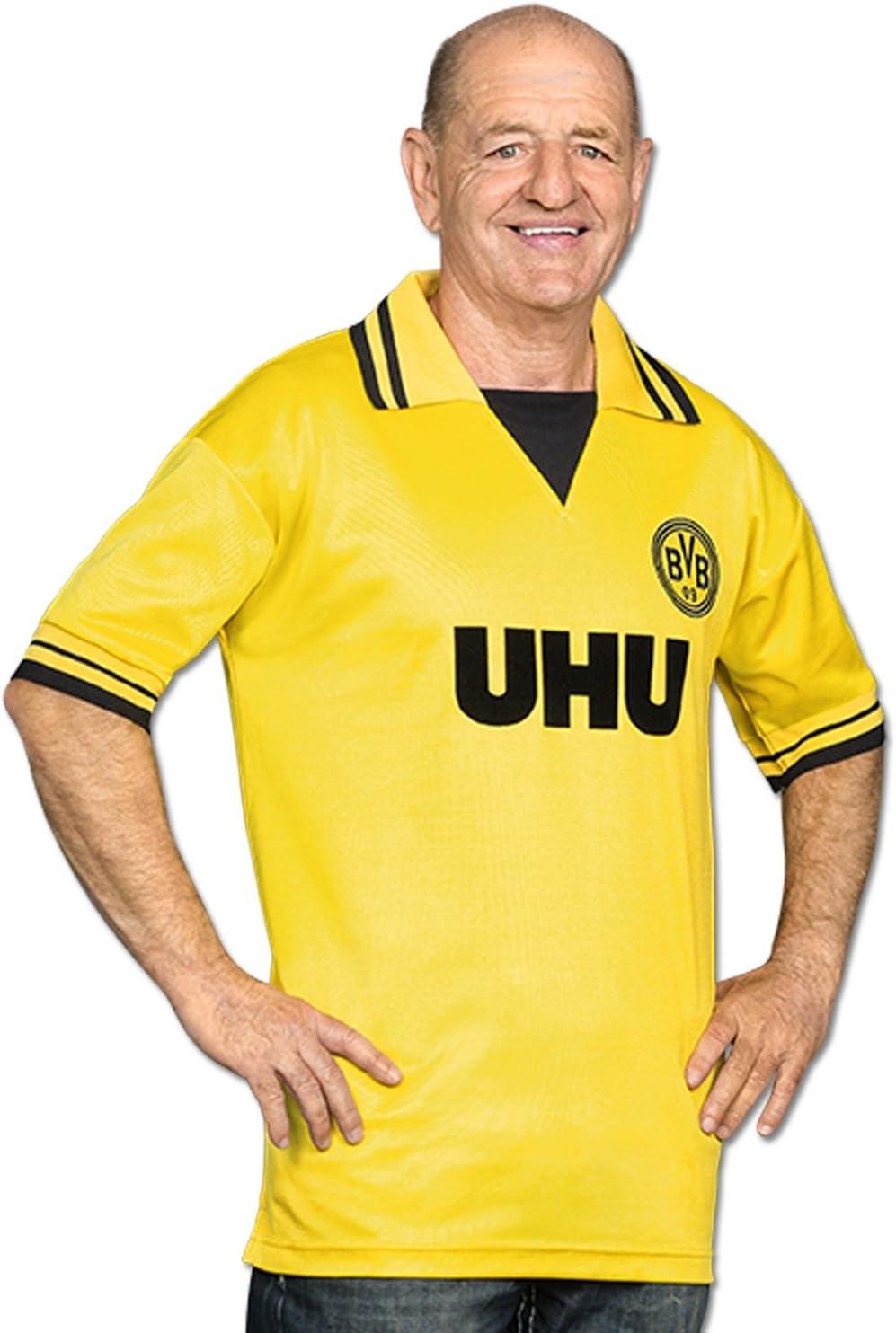 Borussia Dortmund BVB de Retro Camiseta UHU de Manga ...