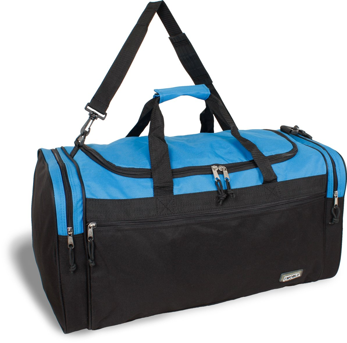 J World New York Copper 18 Inch Duffel Bag, Blue, One Size
