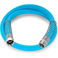 Camco EvoFlex 4-Foot Hose | 5/8-inch Diameter | Designed for Recreational Use | Drinking Water Safe | Super Flexible (22590)