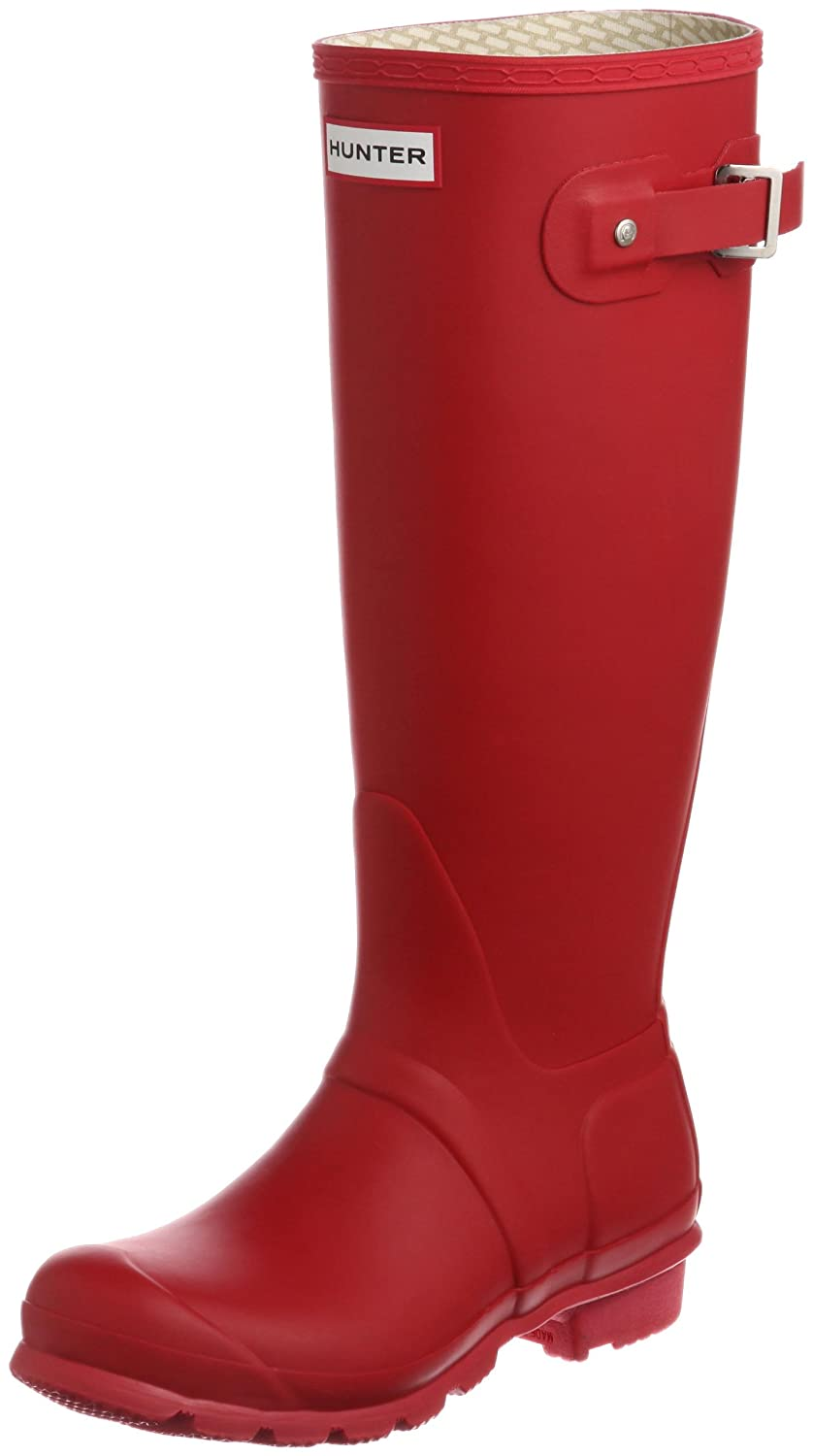 Hunter Women's Original Tall Rain Boot B07956T14L 6 B(M) US|Red