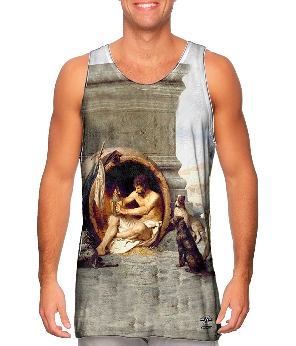 Yizzam- Jean Leon Gerome Diogenes 1860 -Tshirt- Mens Tank Top