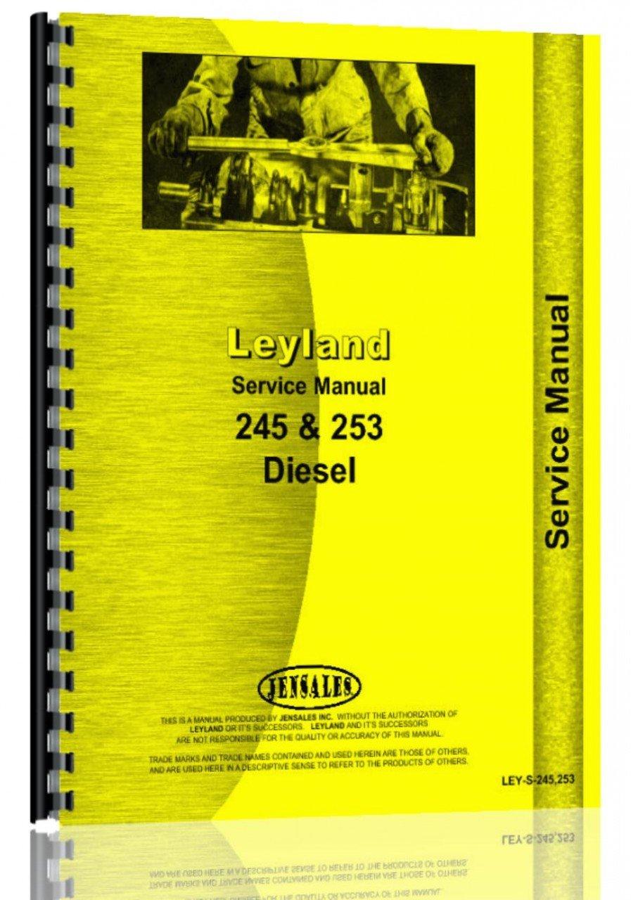 Leyland Tractor Service Manual (LEY-S-245 253): Leyland: 0739718107915:  Amazon.com: Books