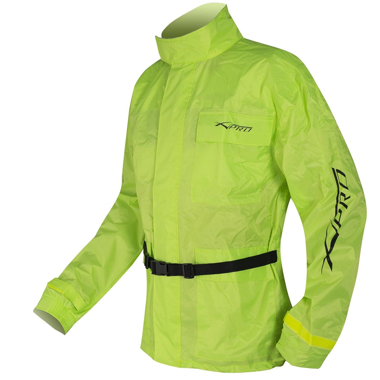 A-pro Combinaison Vetements Antipluie Housse Fluo Blouson Pantalon Securit/é Fluo L