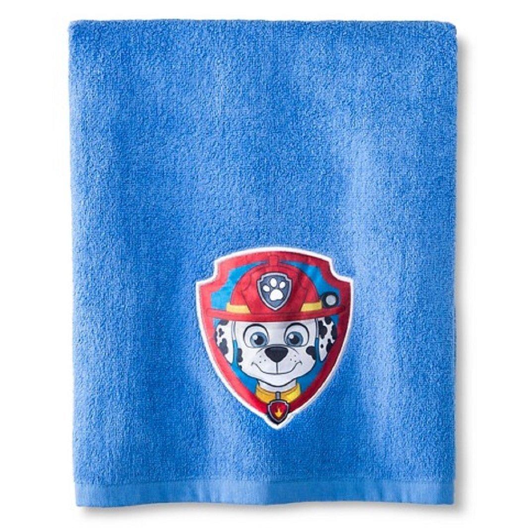 Nickelodeon Paw Patrol Embroidered Bath Towel ~ MARSHALL