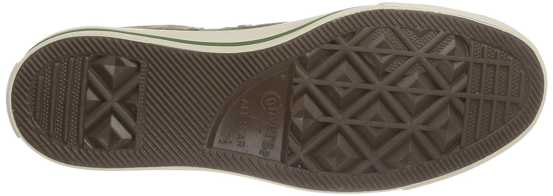 Converse Ct Hi, Print Hi, Ct Herren Sneakers Grün/Chocolate Cm e860d2