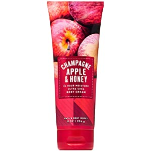 Bath and Body Works Champagne Apple & Honey Ultra Shea Body Cream 8 Ounce (2019 Edition)