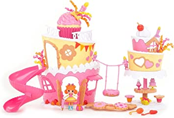 Cool Lalaloopsy Mini Super Silly Party Musical Cake Playset Amazon Co Personalised Birthday Cards Rectzonderlifede