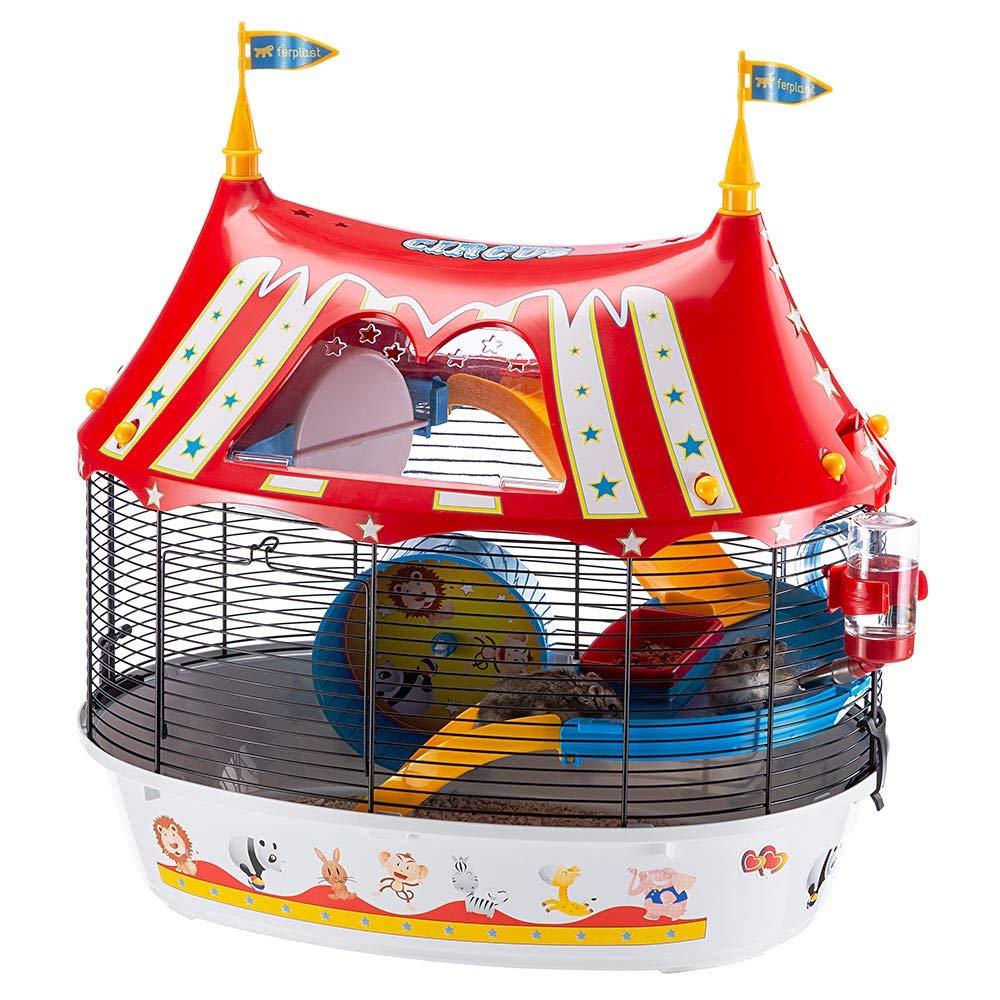 Ferplast Jaula de Tres Pisos para hámsteres Circus Fun, Ratones y ...