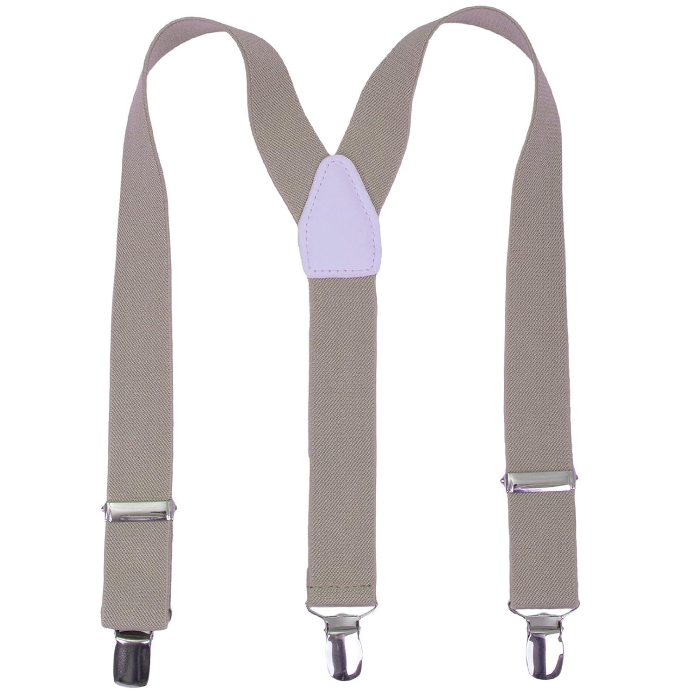 24 inches 7 Months - 3 Years Kids Boy Men Suspenders Y Shape Solid Color 1 Inch Wide Adjustable Suspender , Royal blue