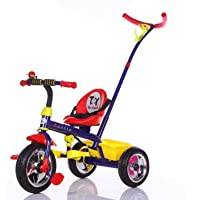 Toy House Apollo Steer N Stroll Tricycle, Blue