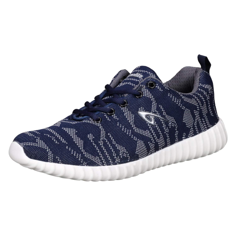 Blue/Grey Running Shoes-7 UK/India