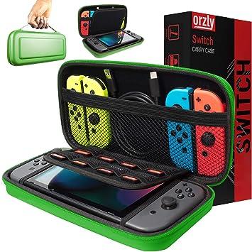Funda de Orzly para Transportar la Nintendo Switch – Verde Funda ...