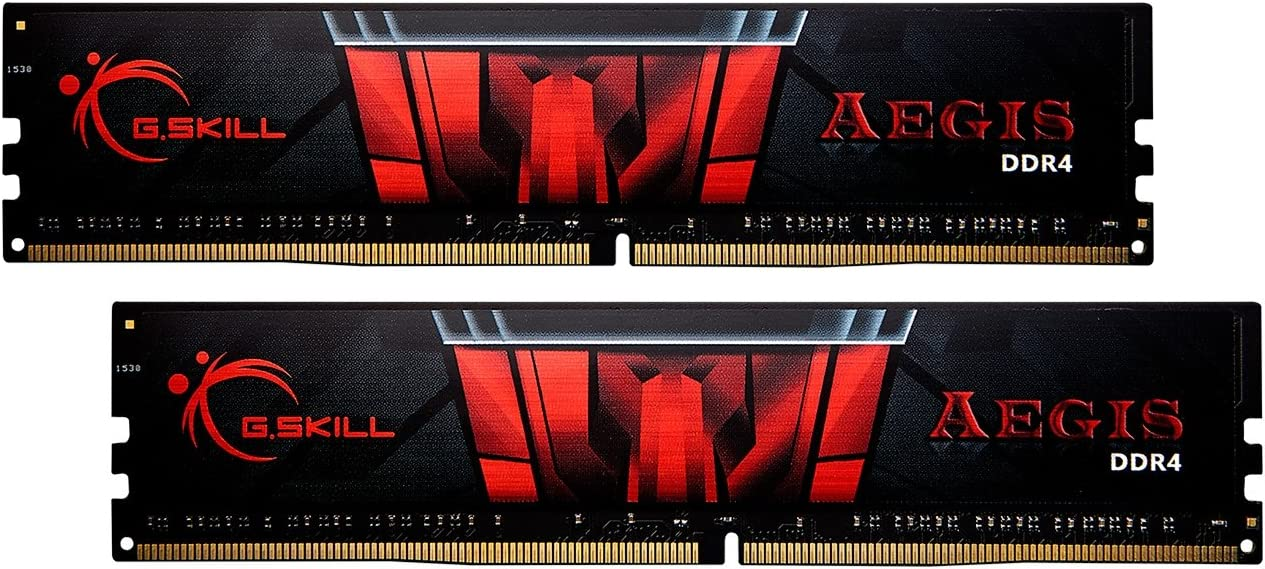 G.Skill 32GB DDR4 Aegis 3000MHz PC4-24000 CL16 Dual Channel Memory Kit (2x16GB)