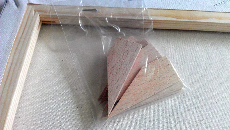 Quantum Art 100/% algod/ón Lona el/ástica para estudiantes 20 x 20 cm color blanco