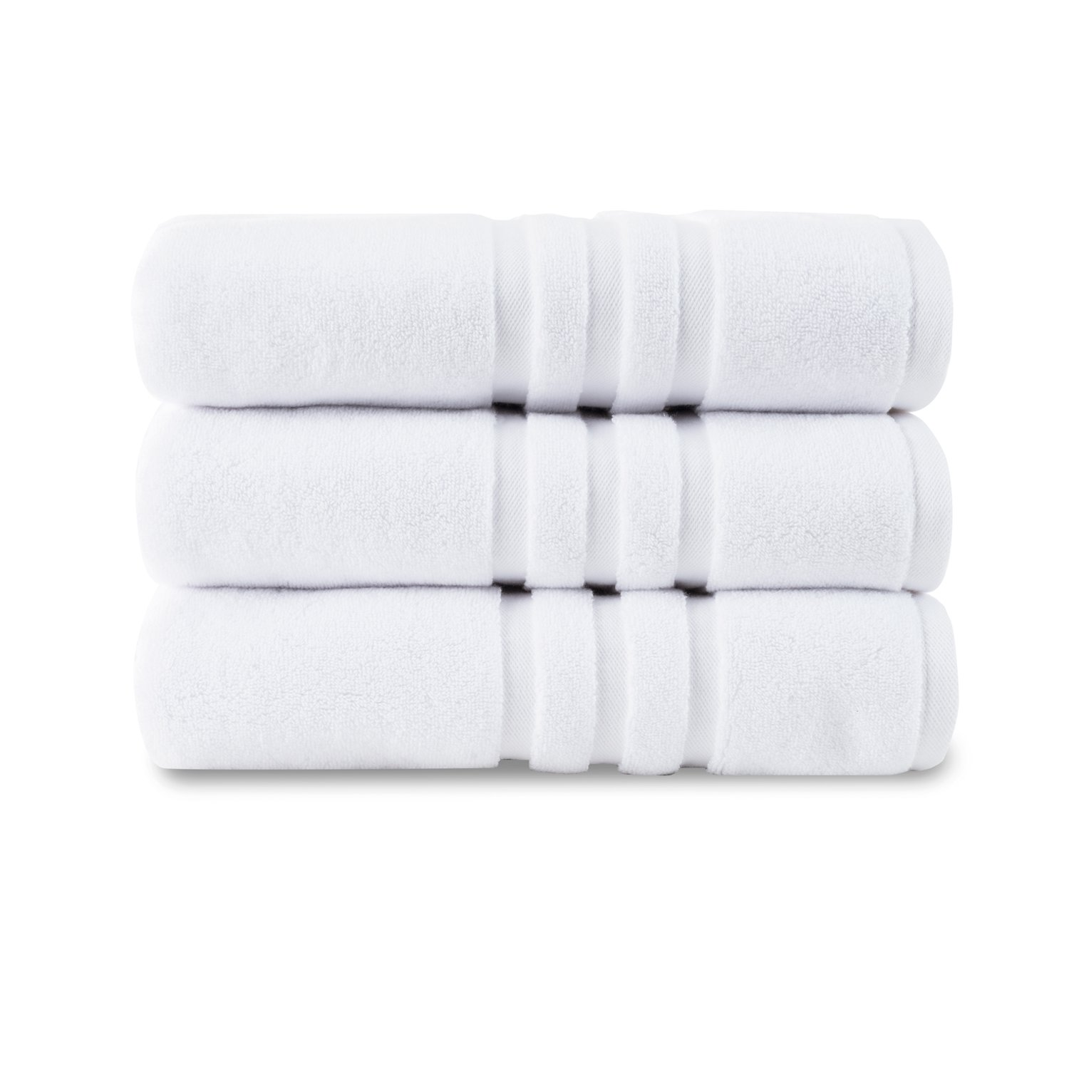 Chortex Irvington Hotel Luxury 850gsm 100% Turkish Cotton, Bath Mat-Pack of 1, White Chortex USA
