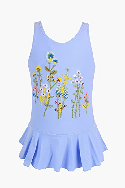 cb32ad236fcd8 Amazon.co.jp: 子供水着 女の子 のワンピース 水着 可愛い サイズ 6-18ヶ月 1.5-6歳 (12-18ヶ月