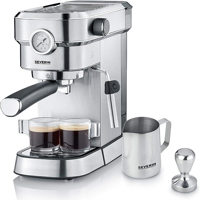 Severin KA 5995 Espresa Plus - Cafetera espresso, 1350, 1.1 L ...