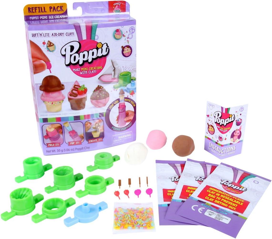 Poppit Season 1 Refill Pack - Ice Cream